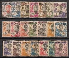 Kouang Tchéou - 1923 - N°Yv. 52 à 72 - Série Complète - Neuf Luxe ** / MNH / Postfrisch - Kouang-Tcheou (1906-1945)