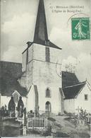 Muzillac : Eglise De Bourg-Paul. Cimetière Rare Cliché! Voir! - Muzillac