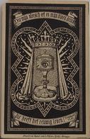 Broeder Angelus Engels-broeders Hieroniemijten-loochristi-1837-poperinghe 1890 - Devotion Images