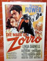 THE MARK OF ZORRO  CIAK MINI LOCANDINA - Manifesti & Poster