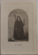 Marie Silvie Elaet-gent-1863 - Images Religieuses