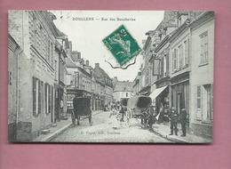 CPA - Doullens  - Rue Des Boucheries - Doullens
