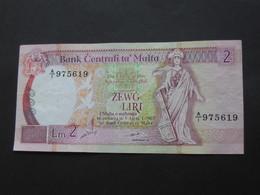 MALTE - 2 Zewg Liri 1994 - Bank Centrali Ta Malta   **** EN ACHAT IMMEDIAT  **** - Malte