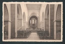 LOBBES. Intérieur De L'Eglise. 2 Scans. - Lobbes