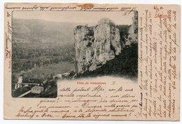 CROATIA/ISTRIA BAGNI SAN STEFANO - VISTA DA TRAMONTANA 1901 - Croazia