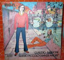 """CLAUDIO BAGLIONI QUESTO PICCOLO GRANDE AMORE   COVER NO VINYL 45 GIRI - 7"""" - Accessori & Bustine"""