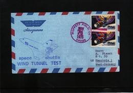 USA Space / Raumfahrt Space Shuttle Interesting Letter - Stati Uniti