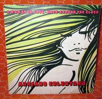 """ADRIANO CELENTANO A WOMAN IN LOVE ROCK AROUND THE CLOCK   COVER NO VINYL 45 GIRI - 7"""" - Accessori & Bustine"""