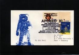 USA Space / Raumfahrt Apollo 11 Interesting Letter - Estados Unidos