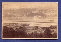 PLAZA De TOROS De ATOCHA + Estacion De Tren SAN SEBASTIÁN Donostia ESPANA. Photographe: F.BERILLON Bayonne France 1880s - Photos