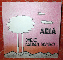 "DARIO BALDAN BEMBO ARIA  COVER NO VINYL 45 GIRI - 7"" - Accessori & Bustine"