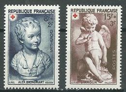 France YT N°876/877 Croix-Rouge 1950 Neuf ** - France