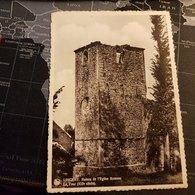 Lincent - Ruines De L'Eglise Romane La Tour (D) - Lincent