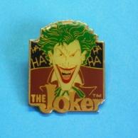 1 PIN'S  //    ** BATMAN / THE JOKER ** . (™ & ©1989 DC COMICS INC) - Comics