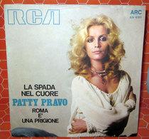 """PATTY PRAVO LA SPADA NEL CUORE  COVER NO VINYL 45 GIRI - 7"""" - Accessori & Bustine"""