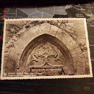 Lincent - Ruine De L'Eglise Romano Gothique Tympan De Porte Gothique (D) - Lincent