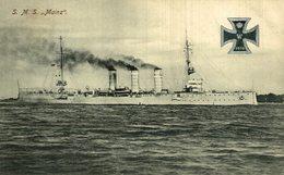 AK Kriegsschiff SMS MAINZ - Krieg