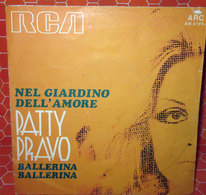 """PATTY PRAVO NEL GIARDINO DELL'AMORE  COVER NO VINYL 45 GIRI - 7"""" - Accessori & Bustine"""