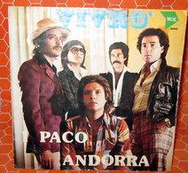 "PACO ANDORRA VIVRO'  COVER NO VINYL 45 GIRI - 7"" - Accessori & Bustine"