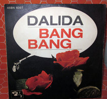 """DALIDA BANG BANG  COVER NO VINYL 45 GIRI - 7"""" - Accessori & Bustine"""