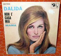 """DALIDA NON E' CASA MIA  COVER NO VINYL 45 GIRI - 7"""" - Accessori & Bustine"""