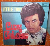 """LITTLE TONY CUORE BALLERINO  COVER NO VINYL 45 GIRI - 7"""" - Accessori & Bustine"""