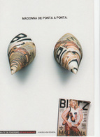 Portugal Postal -publicidade Revista BLITZ Madonna  - Ad Publicité - - Advertising