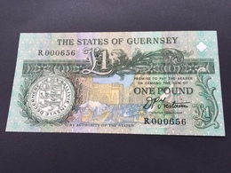 GUERNESEY P52B 1 POUND 1991 UNC - Guernsey