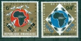 Rwanda 1978 OAU Organisation For African Unity MUH - Rwanda