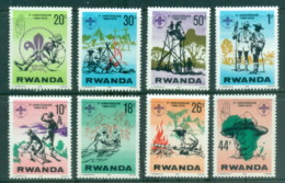 Rwanda 1978 Rwanda Boy Scouts 10th Anniv. MUH - Rwanda