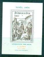 Rwanda 1978 Xmas, Nativity MS MUH - Rwanda