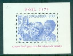 Rwanda 1979 Xmas, IYC Intl Year Of The Child MS MUH - Rwanda