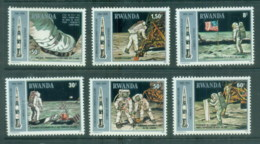Rwanda 1980 Apollo 11 Space, Moon Exploration MUH - Rwanda