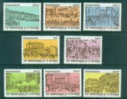 Rwanda 1980 Belgian Independence Sesquicentenary MUH - Rwanda