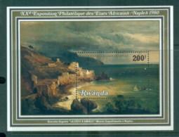 Rwanda 1980 Paintings, Philatelic Ex MS MUH - Rwanda
