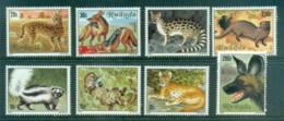 Rwanda 1981 Carnivores, Meat Eating Animals MUH - Rwanda