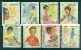 Rwanda 1981 Intl. Year Of The Disabled MUH - Rwanda