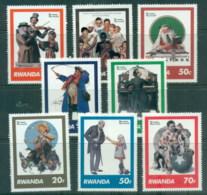 Rwanda 1981 Norman Rockwell MUH - Rwanda