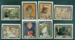 Rwanda 1981 Paintings, Frescoes Of St Benedict MUH - Rwanda