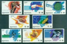 Rwanda 1981 Telecommunications & Health MUH - Rwanda