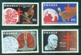 Rwanda 1982 TB Bacillus Centenary MUH - Rwanda