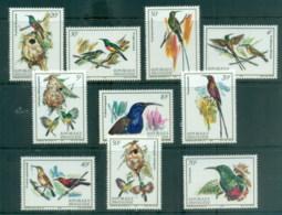 Rwanda 1983 Nectar Sucking Birds MUH - Rwanda