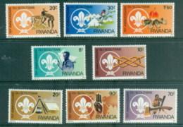 Rwanda 1983 Scouting Year MUH - Rwanda