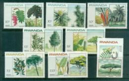 Rwanda 1984 Flowering Trees MUH - Rwanda