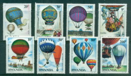Rwanda 1984 Manned Flight Bicentenary MUH - Rwanda