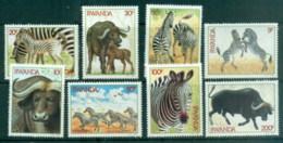 Rwanda 1984 Wildlife, Zebras & Buffaloes MUH - Rwanda
