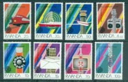 Rwanda 1984 World Communications Year MUH - Rwanda