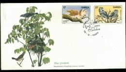 Rwanda 1985 Audubon Birds,  Franlkin Mint FDC Lot79686 - Rwanda