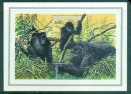 Rwanda 1985 Gorillas MS MUH - Rwanda