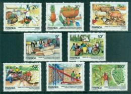Rwanda 1985 Self Sufficiency In Food Production MUH - Rwanda